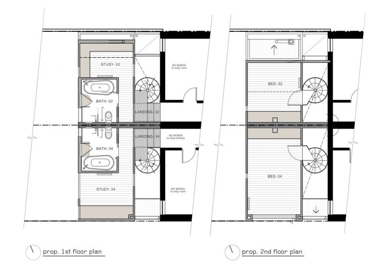 vertical concept home design floorplans