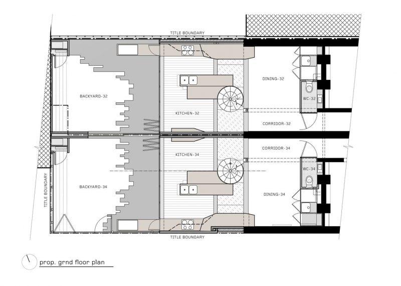 vertical concept home design floorplan