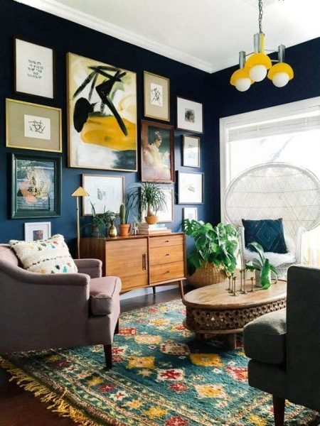Artistic Small Living Room Ideas