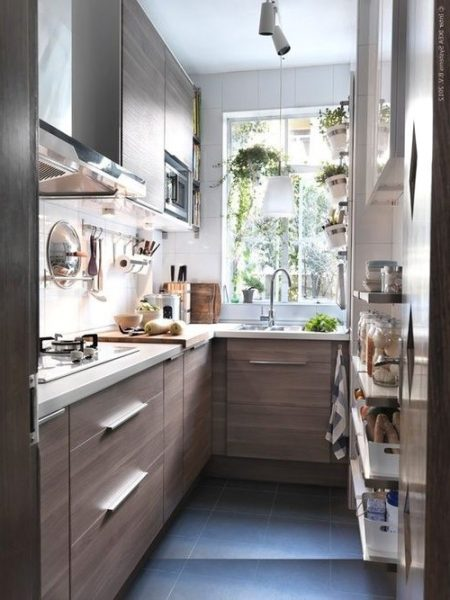 Beautiful small kitchen that will make you fall in love small house decor for Beautiful small kitchen designs
