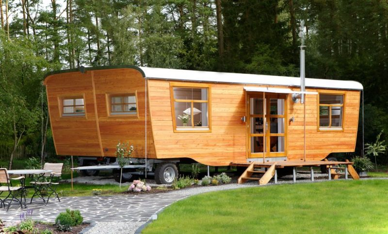 Tiny House On Wheel