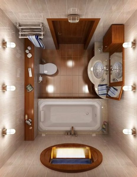 white and orange tiny bathroom Classic Bathroom Design. Tiny Bathroom Ideas for Small House  Birdview Gallery    Small