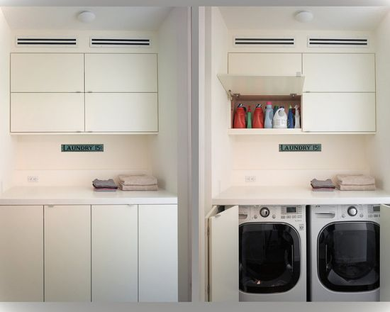 Modern Laundry Rooms laundry room decor ideas for small spaces - small house decor
