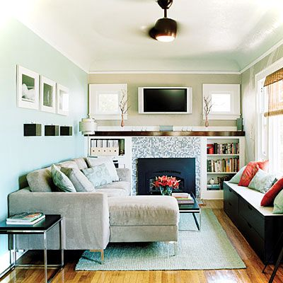 12 Picturesque Small Living Room Design Small House Decor