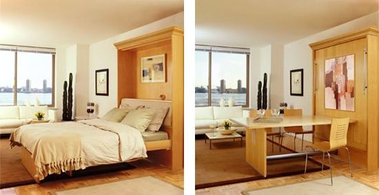 Ding Table And Murphy Bed Ideas