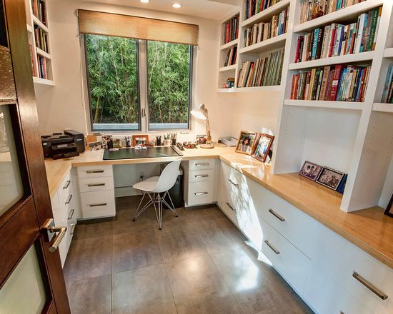 Encino Contemporary Home-office