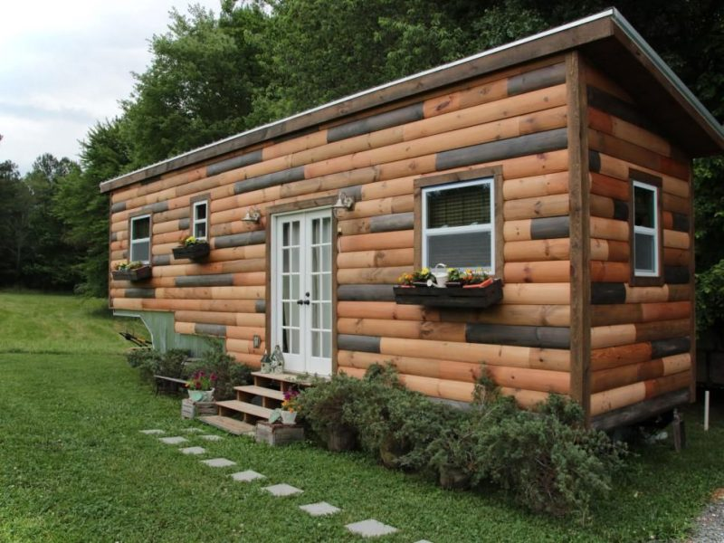 Remarkable 12 Beautiful Tiny House On Wheel Exterior View Small House Decor Largest Home Design Picture Inspirations Pitcheantrous