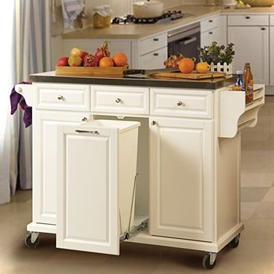 Kitchen Island With Cart