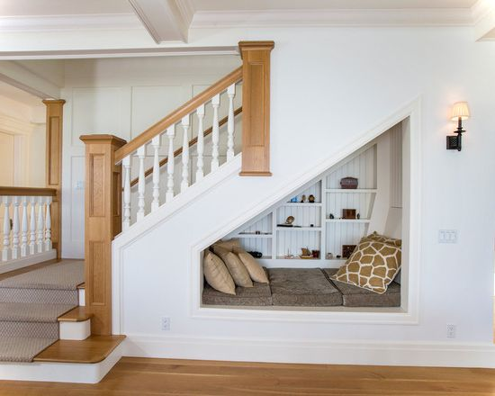 16 Creative Under Stairs Remodelling Ideas - Small House Decor