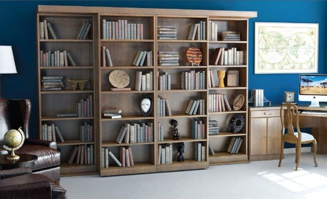 Library Murphy Bed - Bookshelf Mode