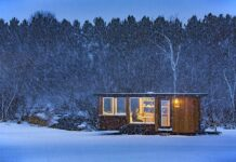 Micro Homes Escape Vista Exterior