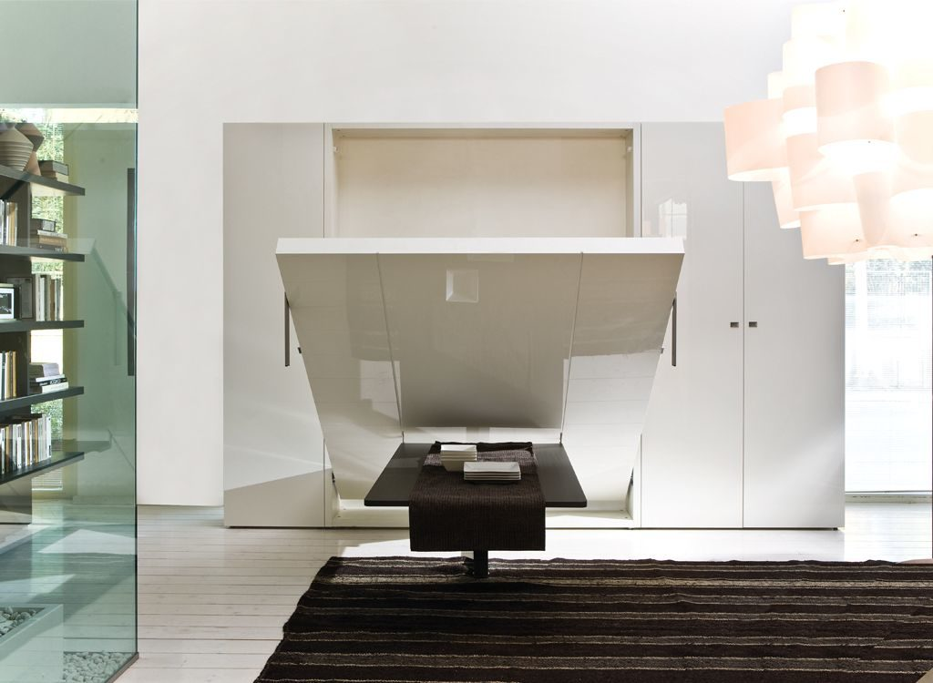 Dinning Table on half transform into bed