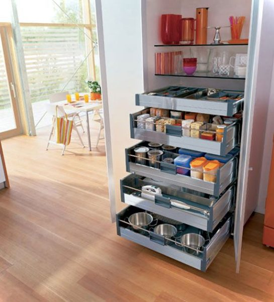 Modern Pull Out Cupboard