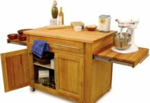 Multipurpose Traditional Kitchen Island