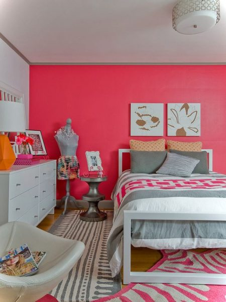Pinky Girls Room Decor