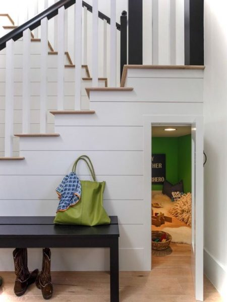 Playspace Under Stairs