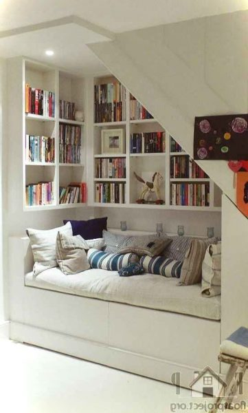 Reading Spaces Under Stairs