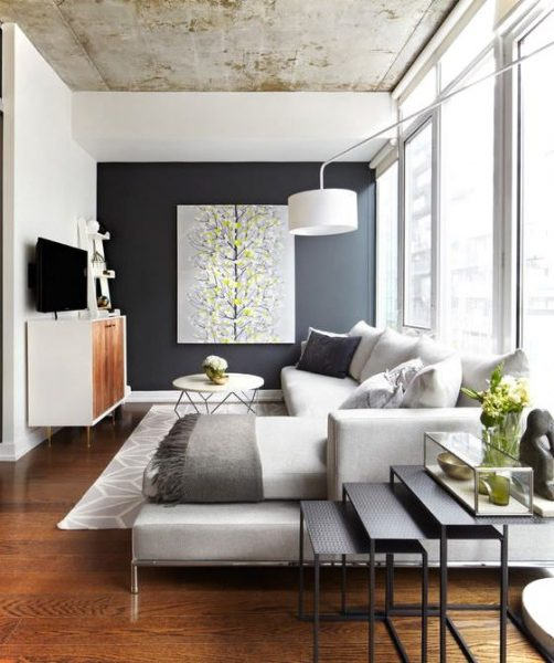 Simple Small Living Roomd Design