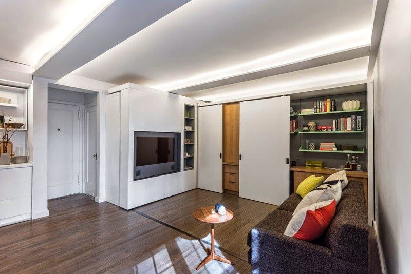 Sliding Wall Apartment Design