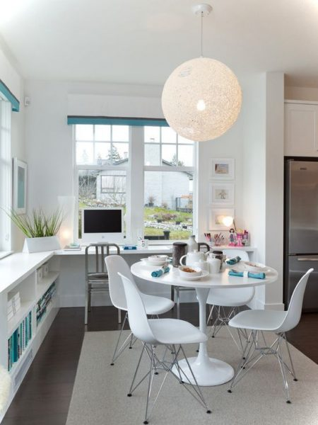 Small Office On Eat In Kitchen