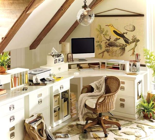 Small home office that-still-bring-plenty-of-visual-appeal