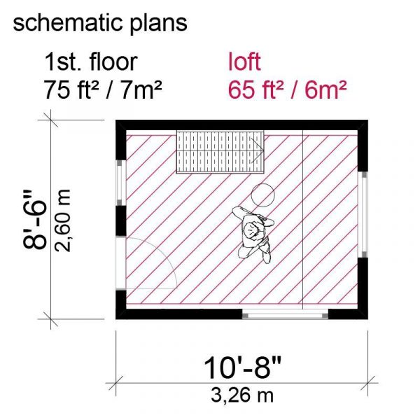small ranch house plans on schematic