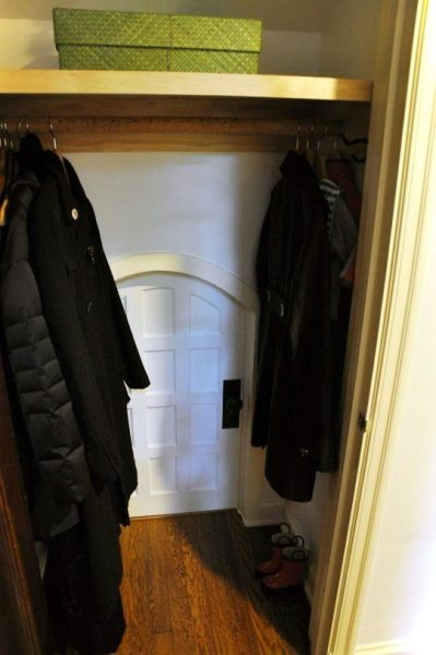 Tiny Door Inside The Closets