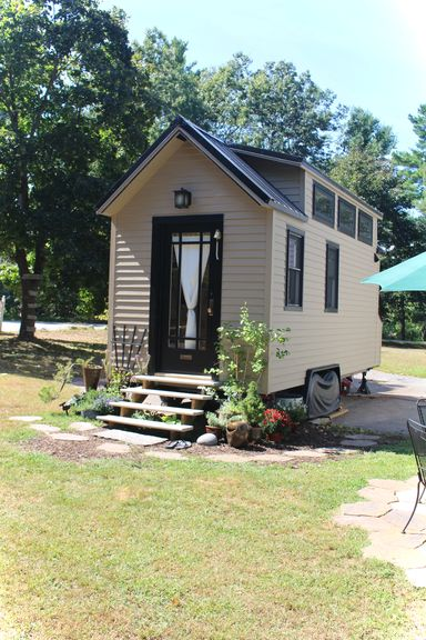 Tiny Hall House Front View
