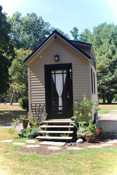 Tiny Hall House Front