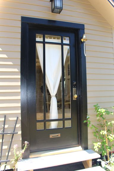 Tiny Hall House Glass Door