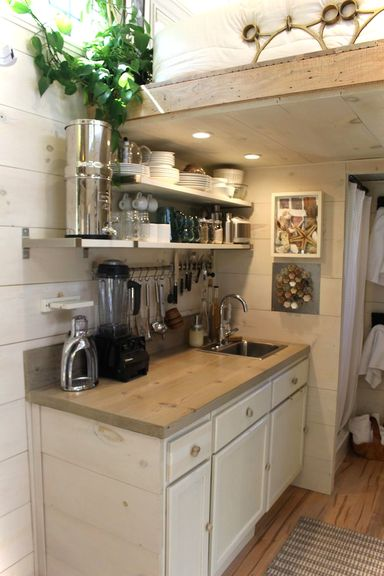 Tiny Hall House Kitchen