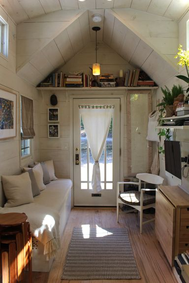 Smart And Impressive Tiny Hall House Built Small House Decor