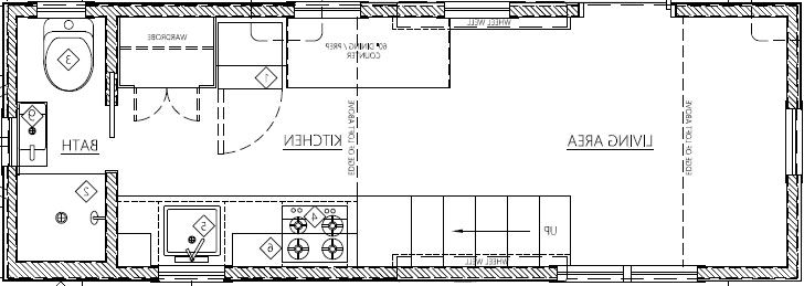 Tiny Living On Hikari Box Floorplan
