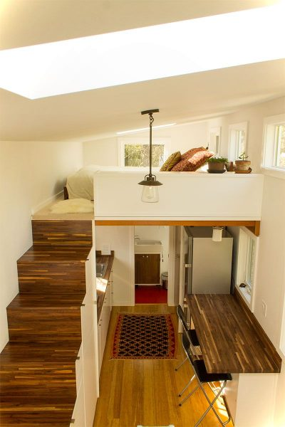 Interior Small House Interior Design: Tiny Living On Hikari Box House