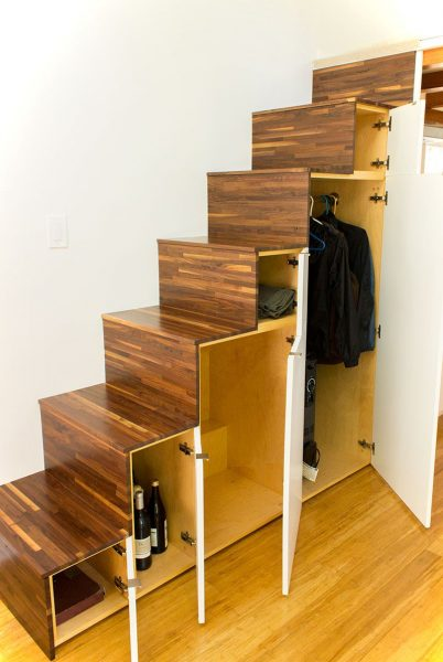 Tiny Living On Hikari Box Under Stairs Storage