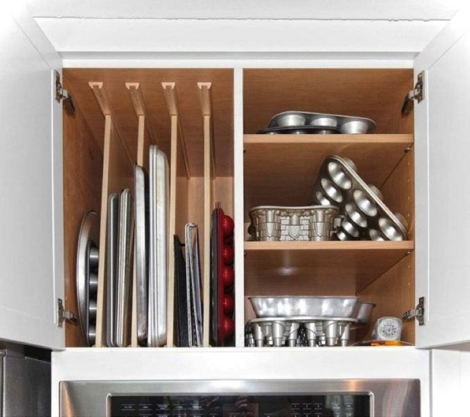 Tray Storage Ideas