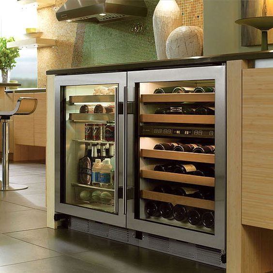 Undercounter Refrigerator For Modern Kitchen Small House