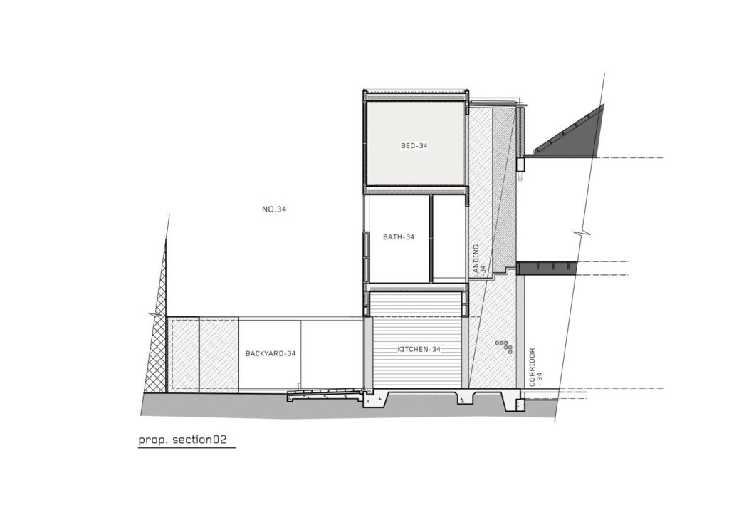 Vertical Concept Homes Front Layout