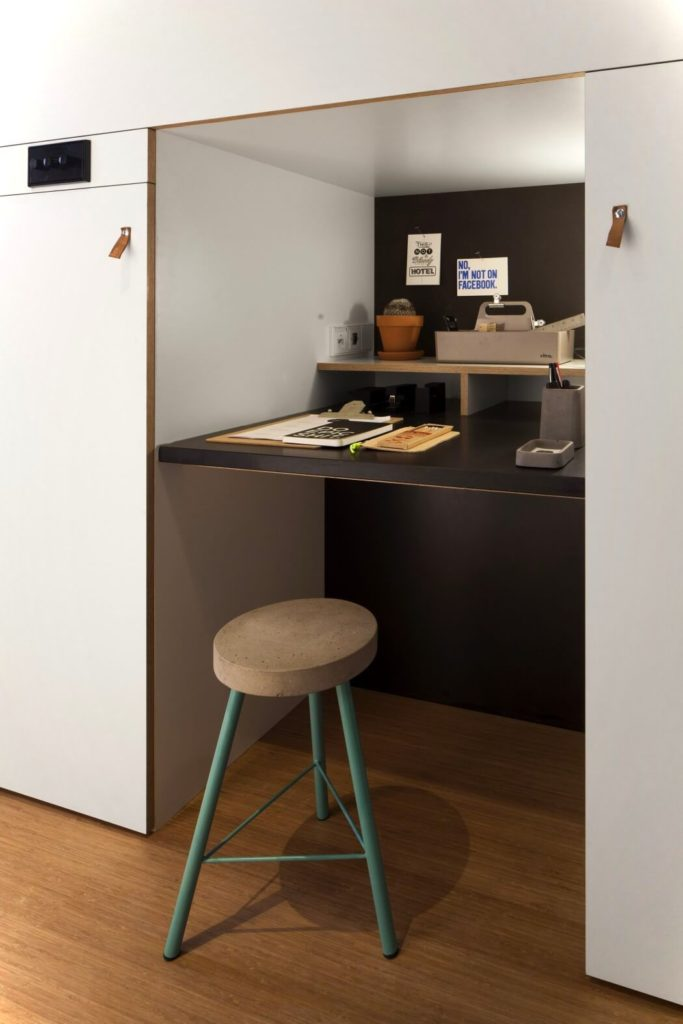 Zoku Loft Small Apartment Design Desk