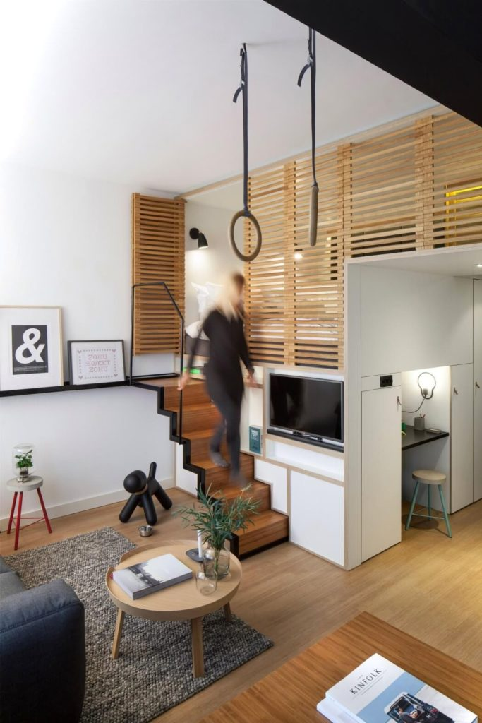 Zoku Loft Small Apartment Design Main Room 2