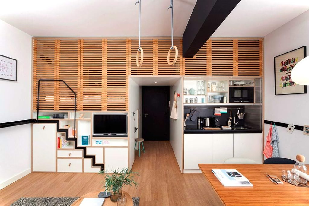 Zoku Loft Small Apartment Design Hybrid Small Home