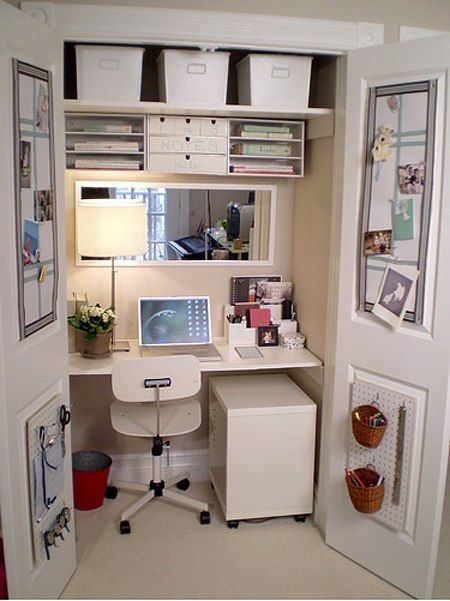 efficient closet office