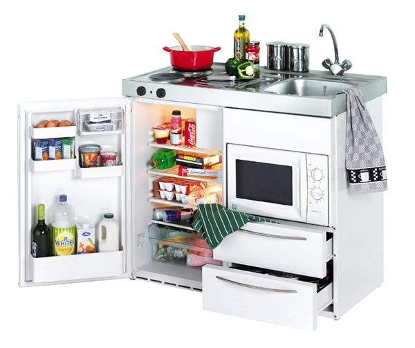 compact mini kitchenette