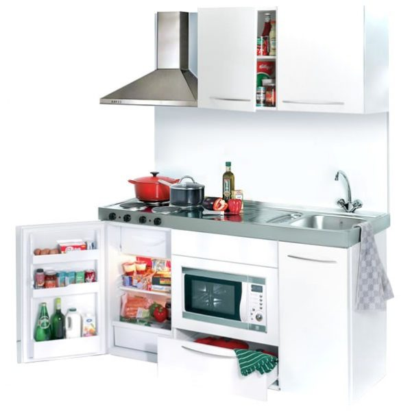 mini kitchennete with hob