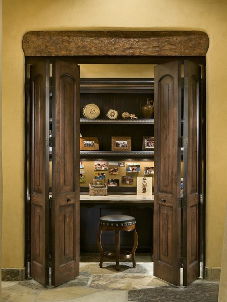 Wooden Closet Office