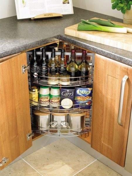 spinable inexpensive kitchen storage