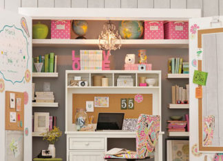 eye catching closet office