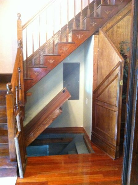 under stairs secret passages ideas