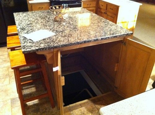 under table secret passages ideas