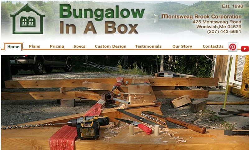 bungalow in box small house kits bungalowinbox tiny house prefab - Tiny House Kits